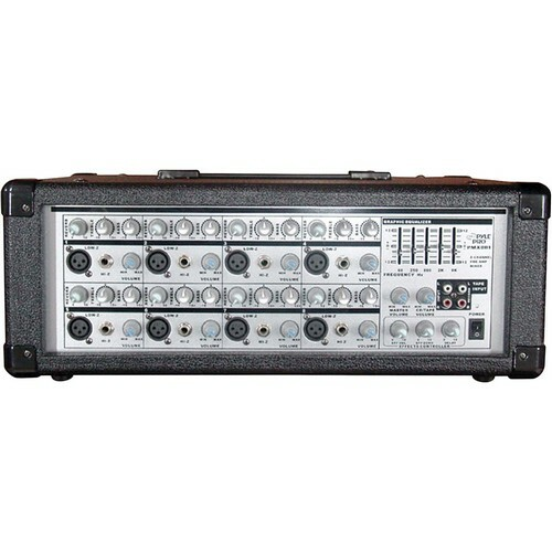 Pyle PMX801 8-Channel Powered Audio Mixer