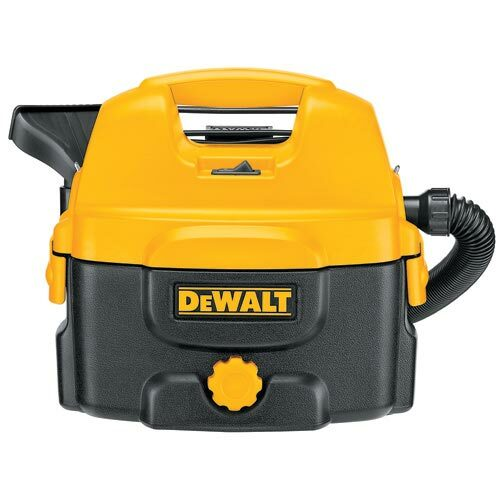 Dewalt DC500 Cordless or Corded Wet/Dry Canister Vacuum Cleaner