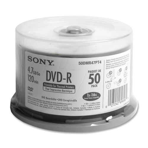 Sony 16x DVD-R Media