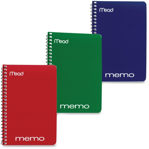 Mead Wirebound Memo Notebook | by Plexsupply