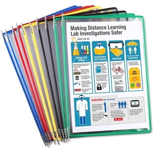 Tarifold Pivoting 10-Pockets Display Pack | by Plexsupply