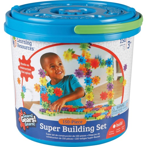 Learning Res. 150-piece Building Actvty Super Set | by Plexsupply