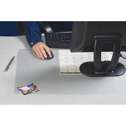 "Artistic Office Products ""Its Perfectly Clear!"" Matte Finish Desk Pad"