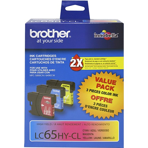 Brother High Yield Color Ink Cartridges