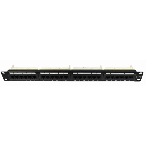 Cables Unlimited 24 Port Cat6 Patch Panel