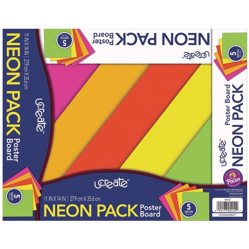 Pacon Peacock Poster Board Sets   by Plexsupply