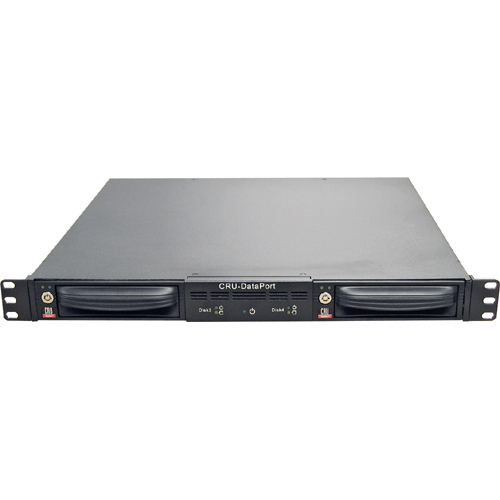 CRU DataPort 1044-5920-5940 Drive Enclosure - Rack-mountable - Black
