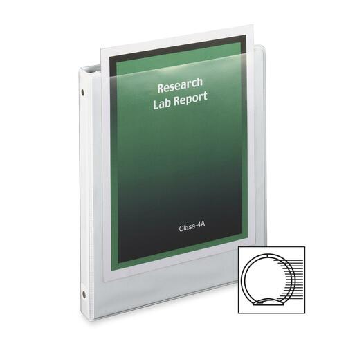 cardinal clear vue round ring presentation binders welcome to four