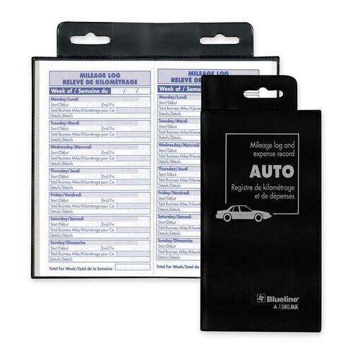 blueline bilingual auto record book blia1580blk
