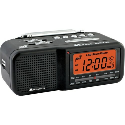 Midland WR11 Clock Radio