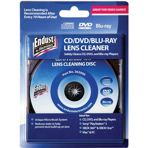 Norazza Inc Endust CD/DVD Lens Cleaner Disc | by Plexsupply