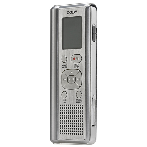 Coby Electronics CX-R190 128MB Digital Voice Recorder