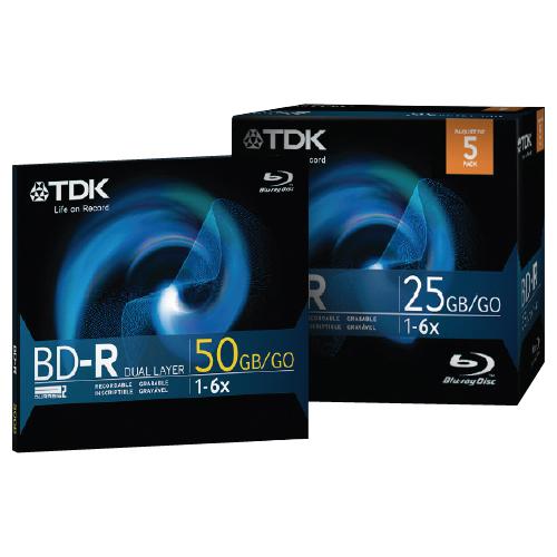 TDK 6x BD-R Media
