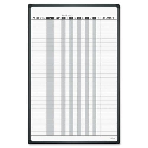 Bi-silque Magnetic In/Out Planner Board