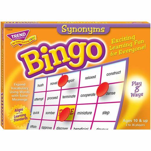 Trend Synonyms Bingo Game | by Plexsupply