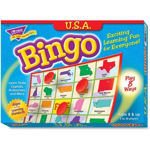 Trend U.S.A. Bingo Game | by Plexsupply