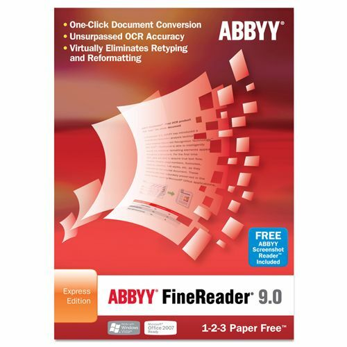Abbyy FineReader v.9.0 Express