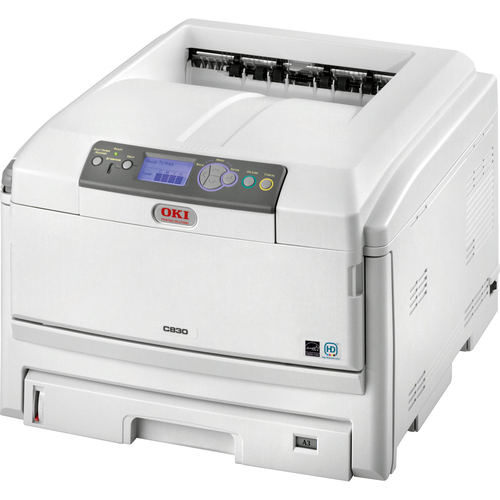 Okidata C830DN 30ppm 1200 x 600dpi Duplex Network Color LED Printer