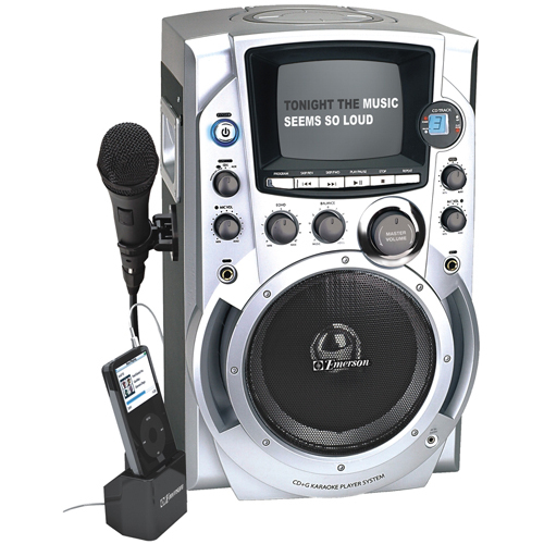 Emerson GQ755 CD+G Karaoke System