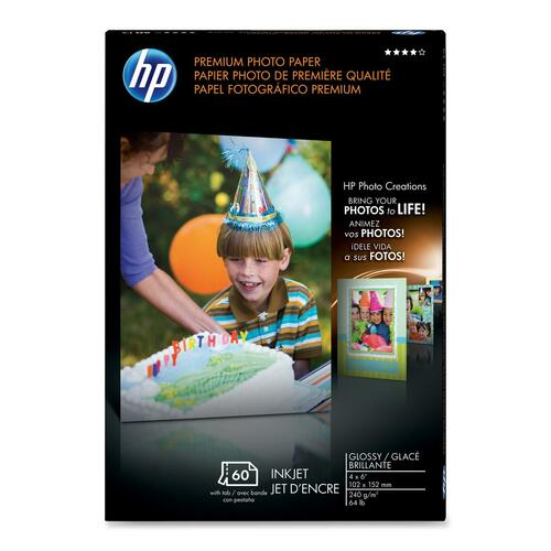 HP Premium Glossy Photo Paper, Q1989A