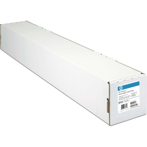 "HP Coated Inkjet Paper 90 G 24"" X 36 Ft Bright White 100/Pack"