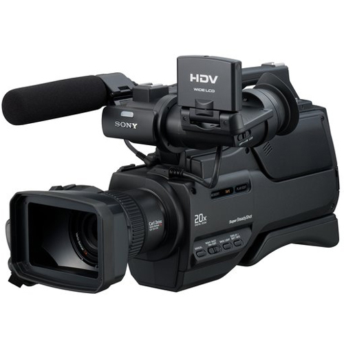 Sony Handycam HVR-HD1000U MiniDV 1080i High Definition Camcorder with 10x Optical Zoom