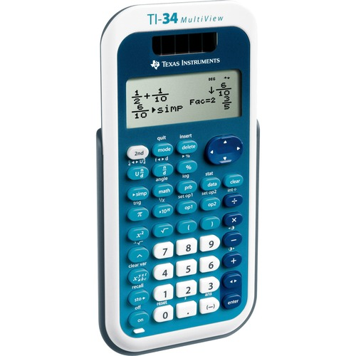 Texas Inst. TI-34 MultiView Scientific Calculator | by Plexsupply