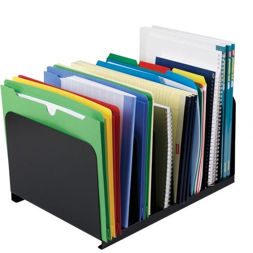 MMF Industries 8-Compartment Vertical Organizer | by Plexsupply