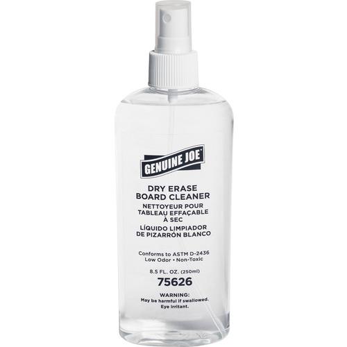 Genuine Joe Dry-erase Board 8 oz. Cleaner  | by Plexsupply