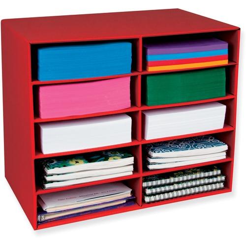 Pacon 10-Shelf Organizer  | by Plexsupply