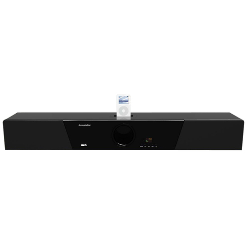 Noah Company AcoustaBar SD-400 520W Sound Bar Subwoofer Home Theater System with iPod Dock
