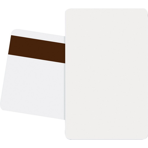 Fargo HID 81751 CR-80 Ultracard PVC Cards With Magnetic Stripe 500 Cards