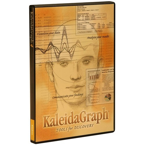 Synergy Software Kaleidagraph v.4.0 Academic Edition - Complete Product - 1 User