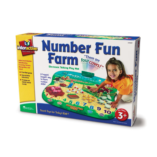 Learning Resources Electronic Talking Number Fun Farm