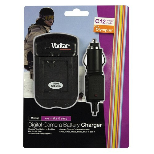 Vivitar SC-OLM AC/DC Charger