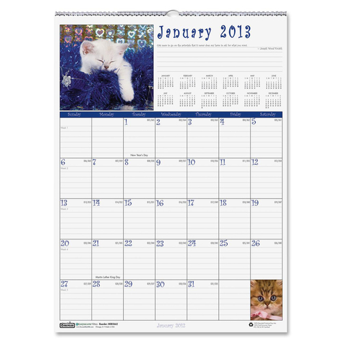 House of Doolittle Earthscapes Kittens Wall Calendar