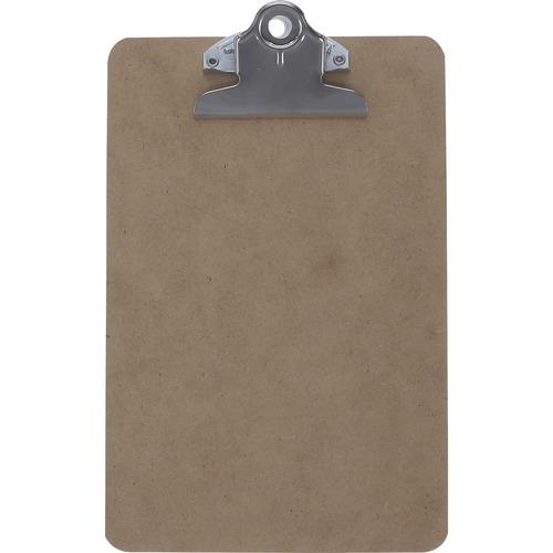 Saunders Brown Hardboard Clipboards | by Plexsupply