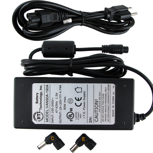 BTI 90W AC Adapter