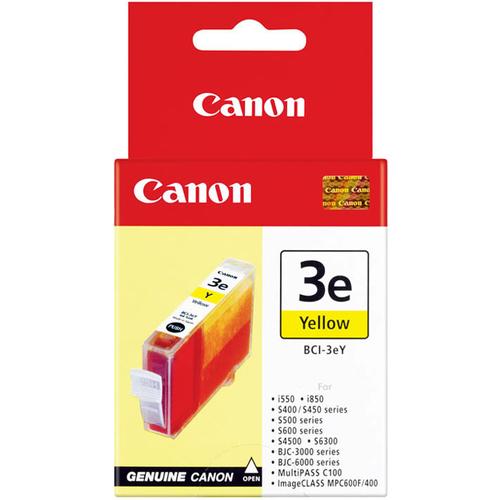 Canon BCI-3eY Ink Cartridge - Yellow