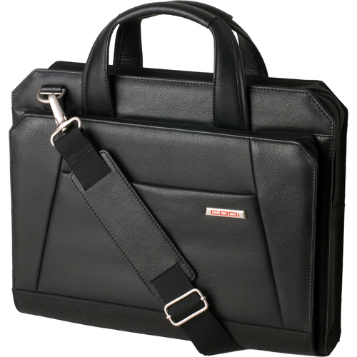 "Codi Director Carrying Case (Briefcase) for 15.4"", Notebook - Black"