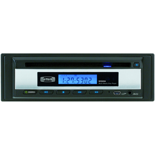Soundstorm SD160UA Car DVD Player - In-dash - Single DIN