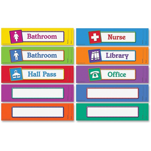 Learning Resources Magnetic Hall Passes, Set of 10