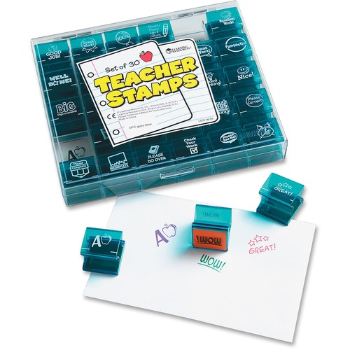Learning Res. Jumbo Teacher Stamps Set | by Plexsupply