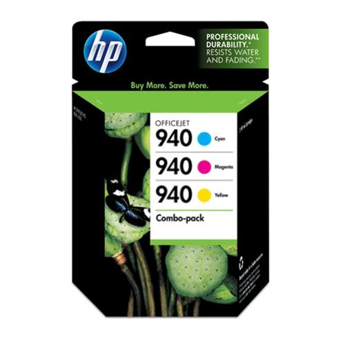 HP INC. - INK 940 COMBOPACK CYAN/MAGENTA YELLOW INK CARTRIDGE FOR OFFICEJET