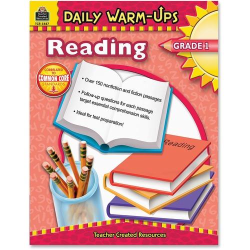 Teacher Created Res. Gr1 Daily Warm-Ups Reading Bk | by Plexsupply