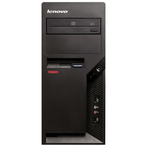 Lenovo ThinkCentre M58e 7268B8U Desktop Computer - Intel Core 2 Quad Q9400 2.66 GHz - Tower - Black