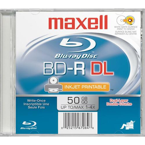 Maxell 4x BD-R DL Media