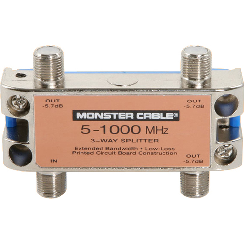Monster Cable SS3RF MKII RF Splitter