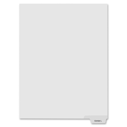 Kleer-Fax Alphabetical Index Dividers | by Plexsupply