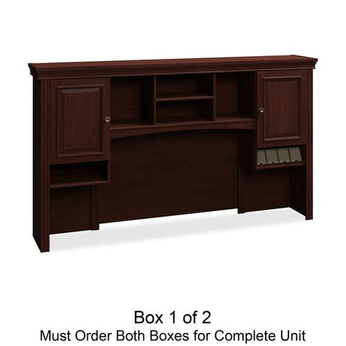 Bush Furniture Syndicate 6373CSA1-03 Tall Hutch Box 1 of 2 (Should Purchase 6373CSA2-03 to Complete the Set)